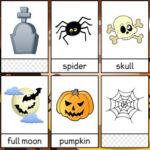 Flashcards de vocabulário de Halloween