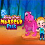 Baby Hazel visita o Parque dos Dinossauros
