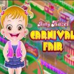Baby Hazel na Feira de Carnaval