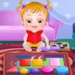 Baby Hazel aprende as Formas