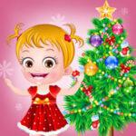Baby Hazel no Natal