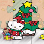 Hello Kitty Puzzles de Natal