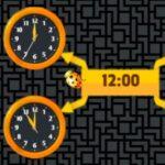 Que horas são? Com o escaravelho