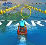 Corrida de Jet ski