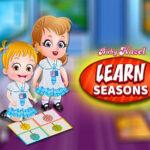 Aprenda as estações com Bebe Hazel