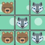Jogo da Velha Animais Selvagens