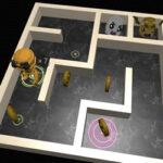 3D Maze e Robô