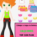 Leitura online: Vestir a boneca