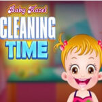 Arrumar e limpar com Baby Hazel