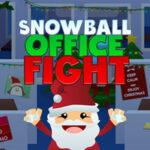 Luta de Bola de Neve no local de trabalho