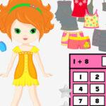 Matemática e Vestir Bonecas