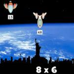 Math Invaders: Tabuada de Multiplicação