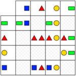 Matriz de Formas Geométricas Coloridas