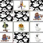 Jogo de Memória de Halloween