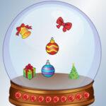 Memorização de objetos de Natal