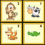 Memorizar os animais em ordem