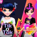 Meninas Tik Tok vs Likee
