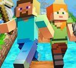 Correr com Minecraft