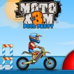 Moto X3M: Festa da piscina