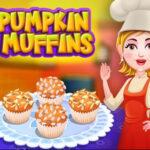 Cozinhar Muffins de Abóbora