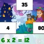 Multiplicações do Halloween