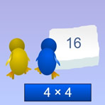 Multiplicando com os Pinguins