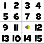 Quebra-Cabeça deslizante com números