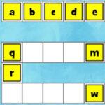 Ordenação do Alfabeto