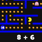 Pacman Adições e Subtrações