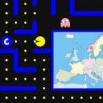 Pacman da Geografia da Europa