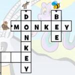 Palavras Cruzadas com Animais em inglês