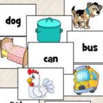 Palavras CVC (consoante + vogal + consoante) em Inglês