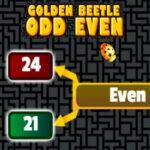 Ímpar ou par com o Escaravelho Dourado