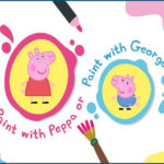 Peppa e George Paint Box