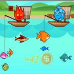 Pesca de 2 jogadores: Fogo e Água