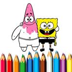 Pintando Bob e Patrick