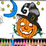 Pintar Desenhos de Halloween Online