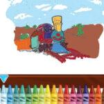Pintura de Trens