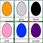 Ovos Coloridos em Inglês