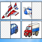 Meios de Transporte Puzzle