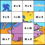 Puzzle de multiplicação