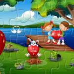 Quebra-cabeças do Dia dos Namorados