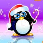 Quebra-cabeças de Natal Pingüins