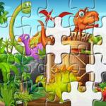 Quebra-cabeça dos Dinossauros