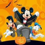 Quebra-cabeça de Mickey Halloween
