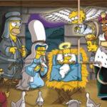 Quebra-cabeça de Natal dos Simpsons