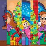 Quebra-cabeça Vertical de Natal
