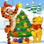 Quebra-cabeça de Natal da Winnie