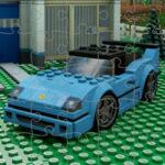 Quebra-cabeças de carros Lego