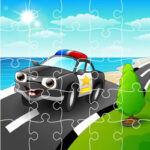 Quebra-cabeças de Desenhos da Polícia Online